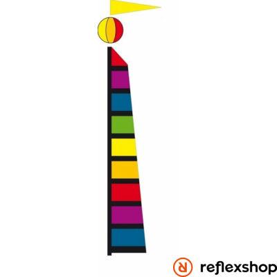 Invento Spinning Garden Banner Rainbow zászló