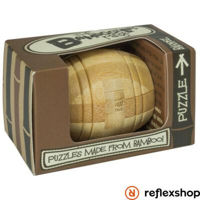 Barrel mini Professor Puzzle bambusz ördöglakat