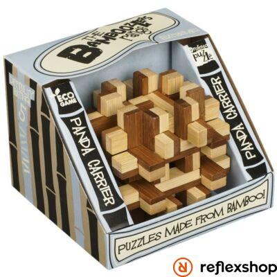 Panda Carrier Professor Puzzle bambusz ördöglakat