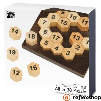 The 38 Puzzle Professor Puzzle logikai játék