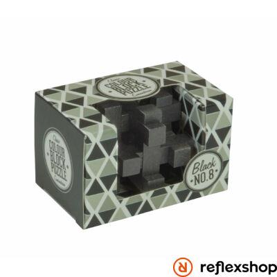 PP színes blokk puzzle fekete