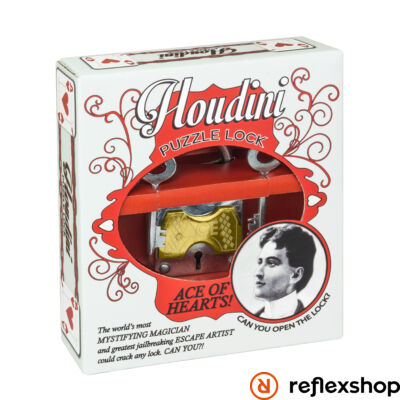 Houdini Ace of Hearts Professor Puzzle ördöglakat