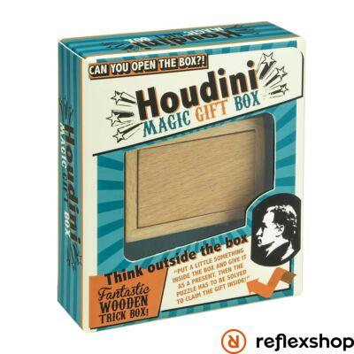 Houdini Magic Gift Box Professor Puzzle ördöglakat