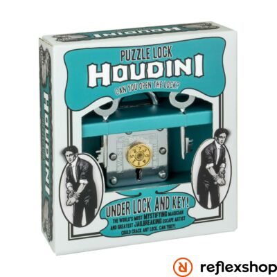 Houdini Under Lock and Key Professor Puzzle ördöglakat
