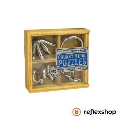 PP Chunky Metal Puzzles fém ördöglakat készlet