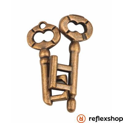 RG Brandebourgi ajtó kulcsa fém ördöglakat