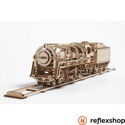 UGEARS Gőzmozdony – mechanikus modell