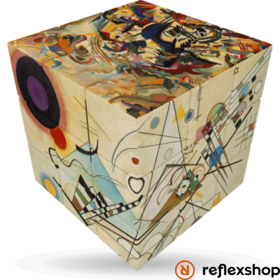 V-Cube 3x3 versenykocka Kandinsky