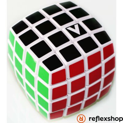 V-Cube 4x4 versenykocka lekerekített fehér matrica nélküli