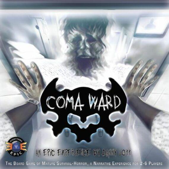 Coma Ward társasjáték, angol nyelvű