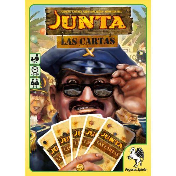 Junta: Las Cartas kártyajáték, angol nyelvű