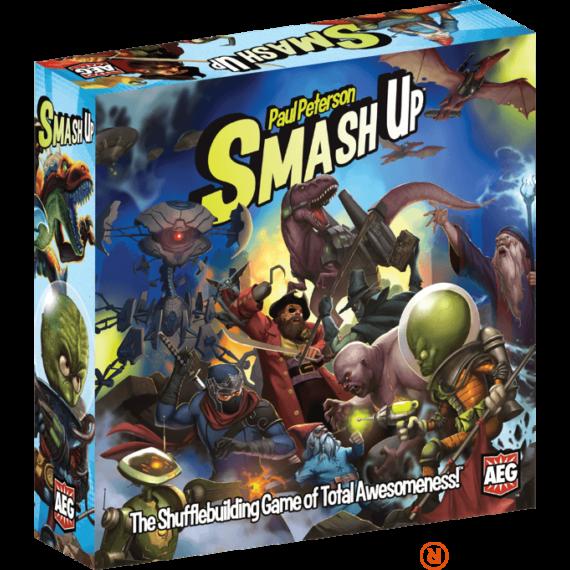 Smash up! angol nyelvű társasjáték