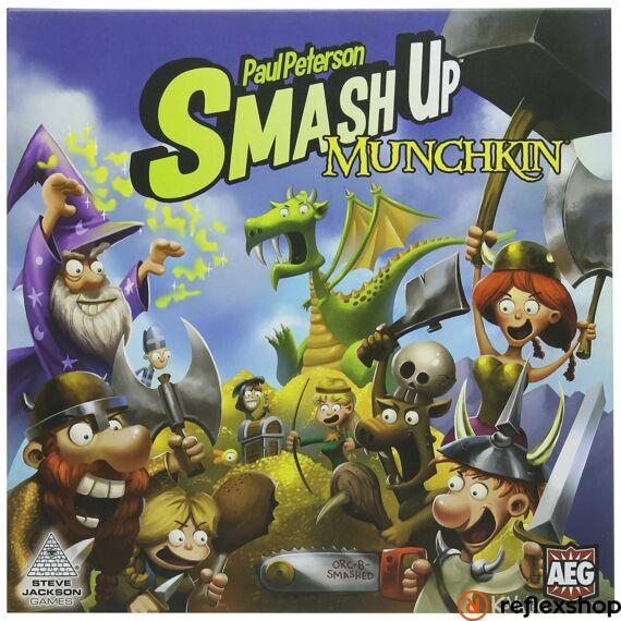 Smash up!  Munchkin - angol nyelvű társasjáték