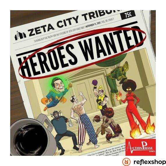 Heroes Wanted társasjáték, angol nyelvű