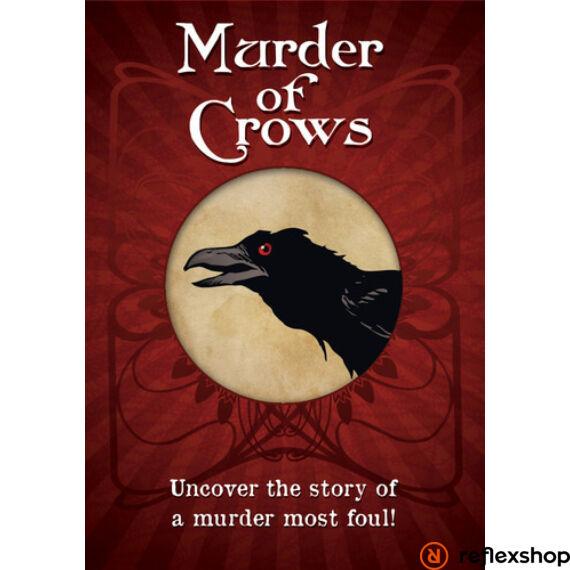 Murder of Crows társasjáték, angol nyelvű