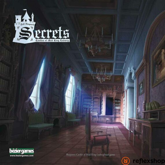 Castles of Mad King Ludwig társasjáték Secrets angol nyelvű kiegészítő