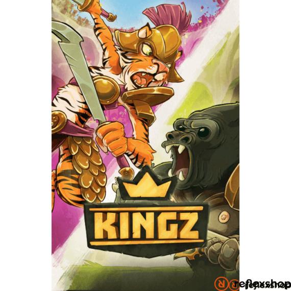 Kingz társasjáték, angol nyelvű
