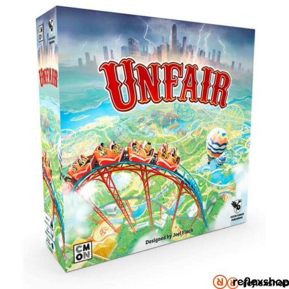 Unfair angol nyelvű társasjáték