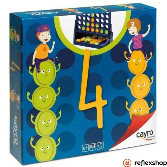 Cayro - Négyet egy sorba! társasjáték borító