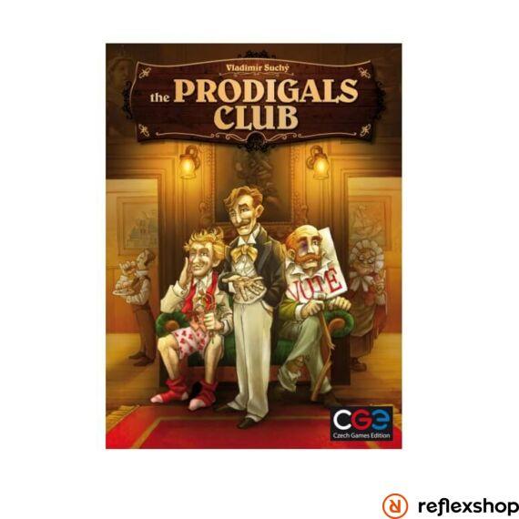 Czech Games The Prodigals Club társasjáték angol nyelv?