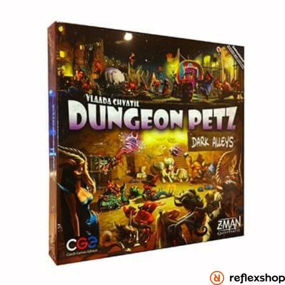 Czech Games Dungeon Petz: Dark Alleys angol nyelvű kiegészítő