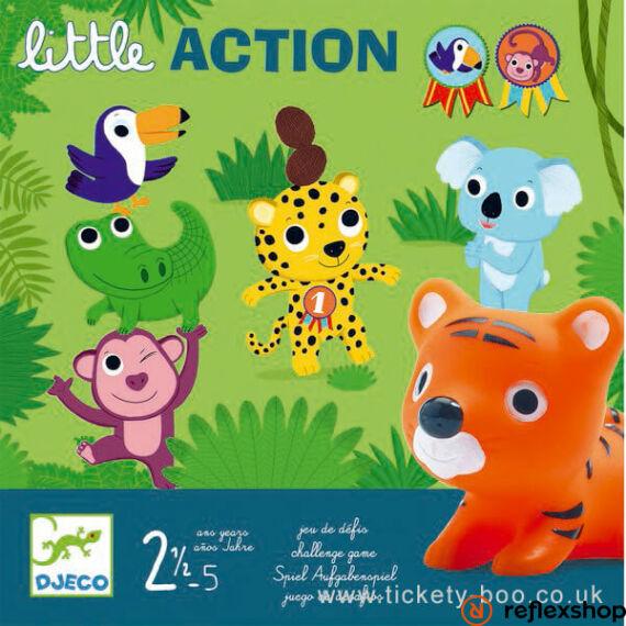 Djeco Egy kis akció (Little action) társasjáték