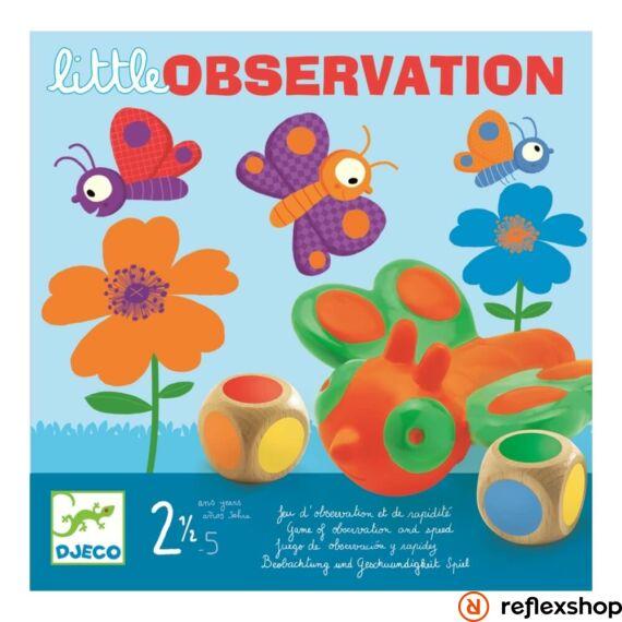 Djeco Little observation Lepkefogó társasjáték
