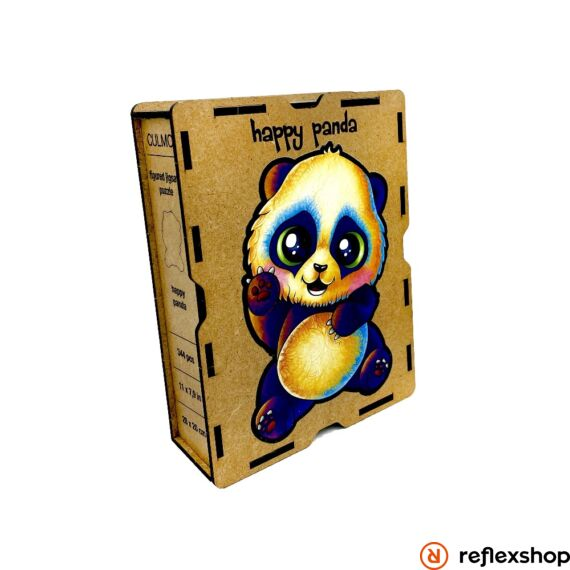 Vidám Panda fa puzzle, L méret