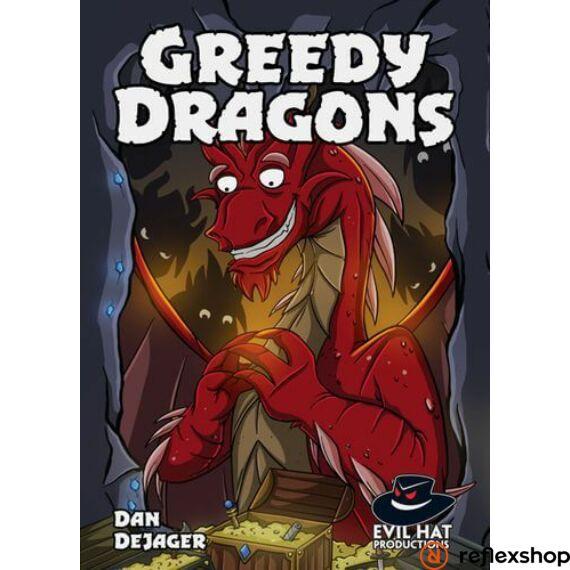 Greedy Dragons társasjáték, angol