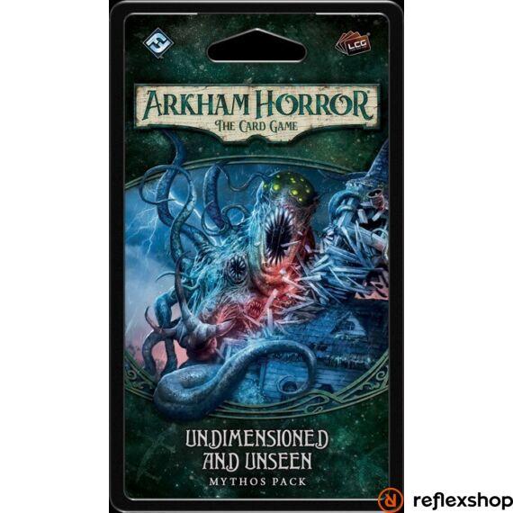 Arkham Horror kártyajáték Undimensioned & Unseen kiegészítő