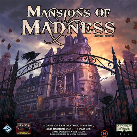 Mansions of Madness társasjáték (második kiadás), angol nyelvű