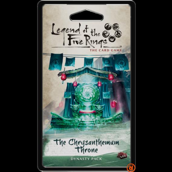 Legend of The Five Rings LCG The Chrysanthemum Throne angol nyelvű kiegészítő