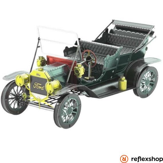 Metal Earth 1908-as sötétzöld Ford T-modell - lézervágott acél makettező szett