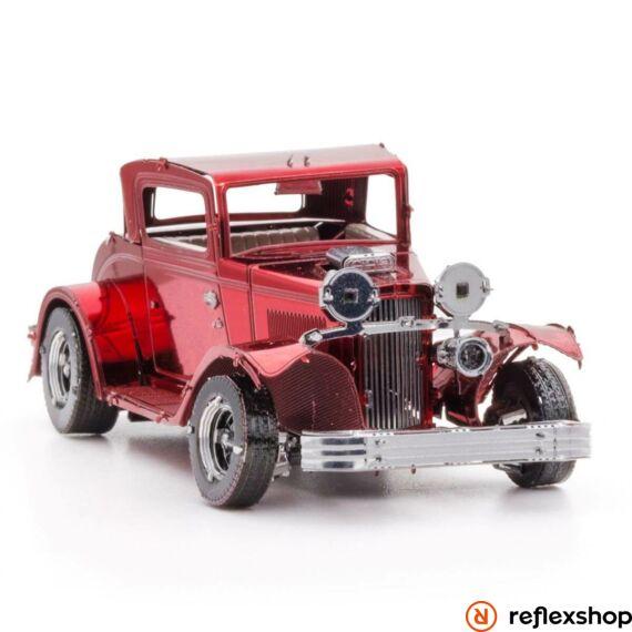 Metal Earth 1932-es Ford coupe - lézervágott acél makettező szett