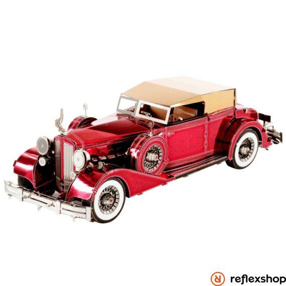 Metal Earth 1934-es tizenkét hengeres Packard kabriolet - lézervágott acél makettező szett