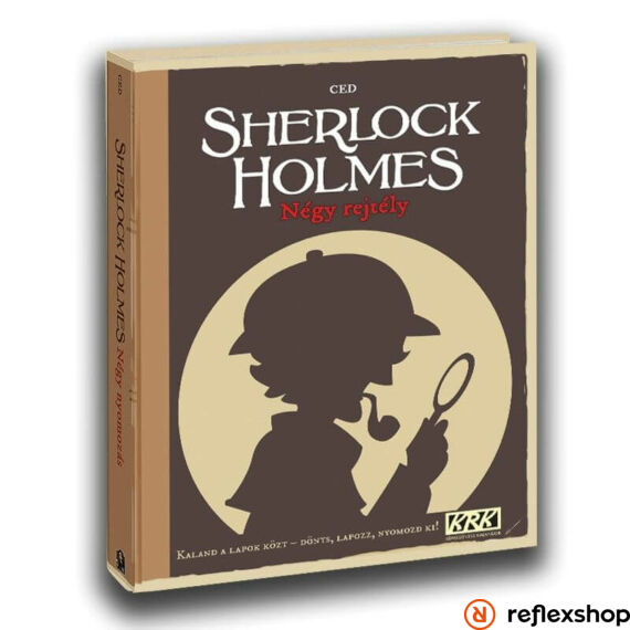 Sherlock - Négy rejtély borító