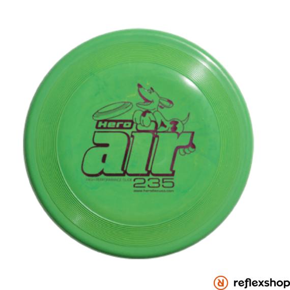 Hero Disc Air 235 standard kutyafrizbi, 23,5cm, zöld