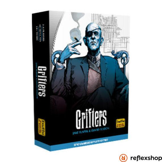 Grifters angol nyelvű társasjáték