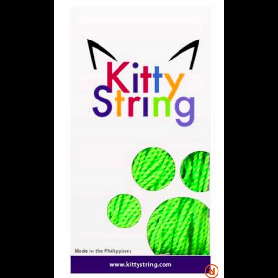 Kitty String -  Zöld FAT 100 db yo-yo zsinór