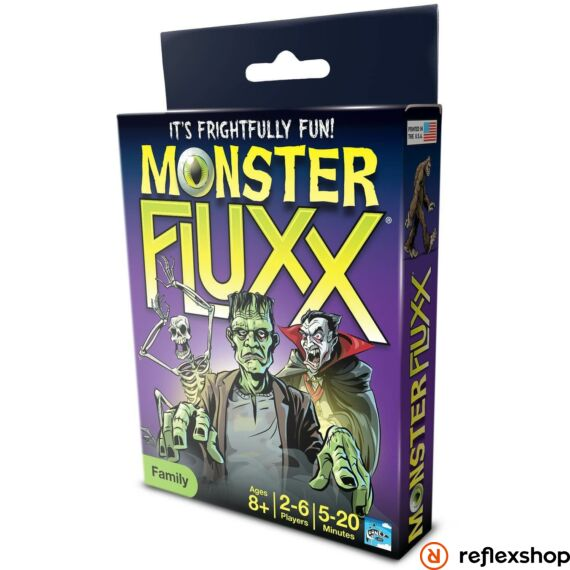 Fluxx Monster Fluxx angol nyelvű társasjáték
