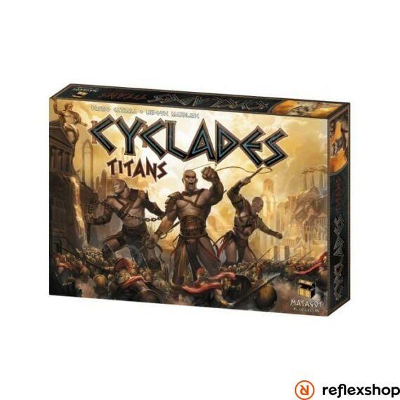 Cyclades: Titans kiegészítő, angol nyelvű