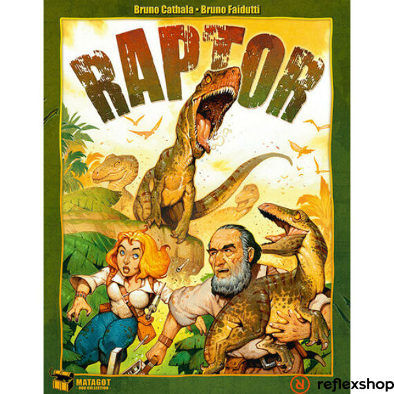 Raptor angol nyelvű társasjáték