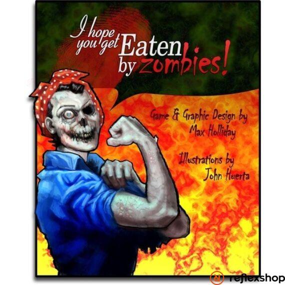 Eaten By Zombies társasjáték, angol nyelvű