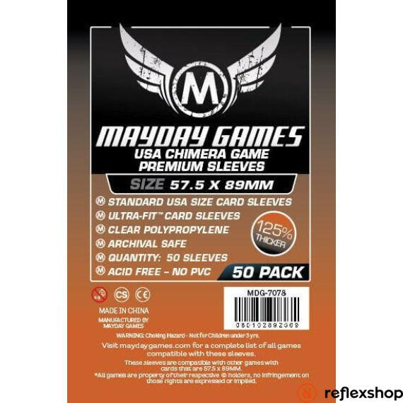 Mayday Games Premium USA Chimera kártyavédő 57.5 x 89 mm (50 db-os csomag)