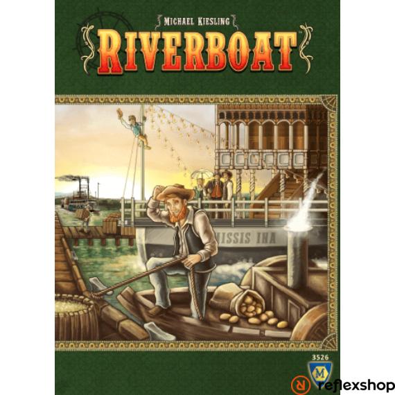 Riverboat angol nyelvű társasjáték
