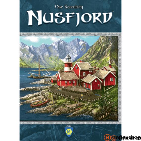 Nusfjord angol nyelvű társasjáték
