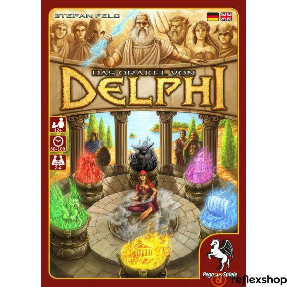 Oracle of Delphi társasjáték, angol nyelvű