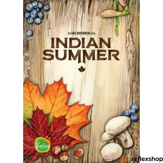 Indian Summer angol nyelvű társasjáték