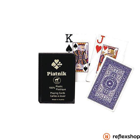 Piatnik plasztik römi kártya 2*55 lap 4 indexes m?anyag dobozos