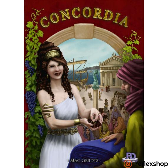 Concordia angol nyelvű társasjáték